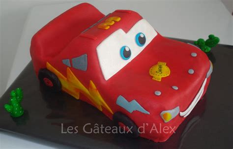 g 226 teau cars flash mcqueen 2 les gateaux d alex