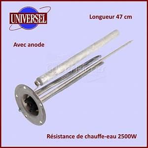 Changer Resistance Chauffe Eau : resistance chauffe eau 2500w d120 anode pour chauffe eau ~ Dailycaller-alerts.com Idées de Décoration