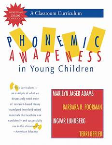 Cheapest copy of Phonemic Awareness in Young Children: A ...