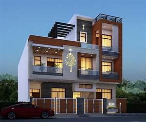 Residential, House, Elevation, Design, By, Weframe, U2013, Weframe