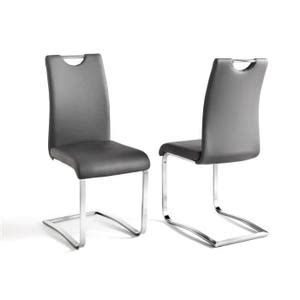 chaise simili cuir gris chaise simili cuir gris bricolage maison et décoration