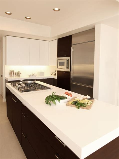 Of Solid Surface Countertops by Inspired Exles Of Solid Surface Kitchen Countertops Hgtv
