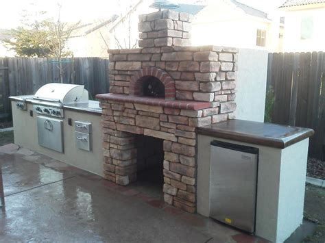 build your own kitchen island plans outdoor pizza ovens smokers unlimited outdoor kitchens