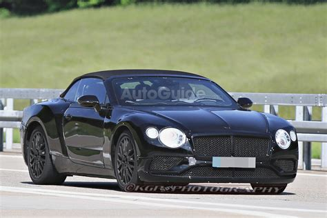 2019 Bentley Continental Gtc Spied Testing With Sporty