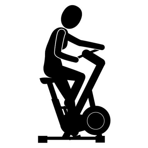 Stationary Exercise Bike Clip Art
