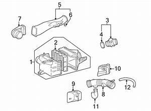 Toyota 4runner Engine Air Intake Resonator  3 4 Liter