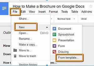 Cometdocs blog technology and online tools for How to make a double sided brochure on google docs
