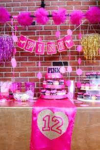 Victoria Secret Pink Birthday Party Ideas