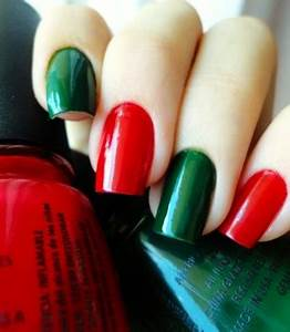 Easy Holiday Nail Art Design nail art