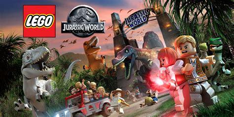 lego jurassic world wii  jeux nintendo