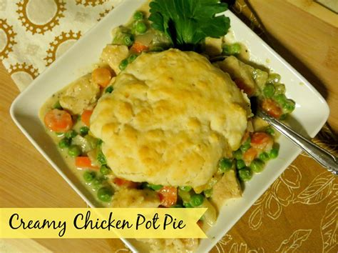 creamy chicken pot pie festfoods