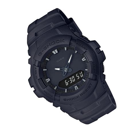 G Shock G 100bb 1adr G Shock popular all black casio g shock minimalist stealth black