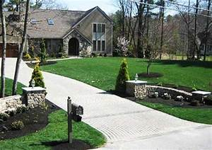 Charming Country Home Driveways, Natural Driveway