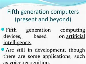 Generations of computer