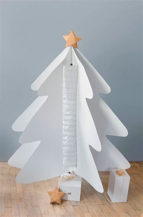 diy paper christmas tree with holmo l ikea hackers