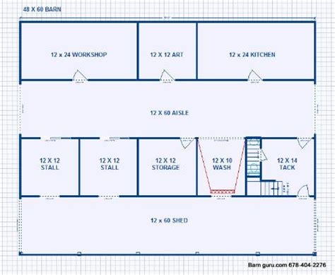 barn plans with living quarters 36 x 60