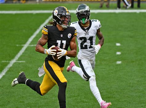 Rookie WR Claypool scores 4 TDs, Steelers top Eagles 38-29 ...