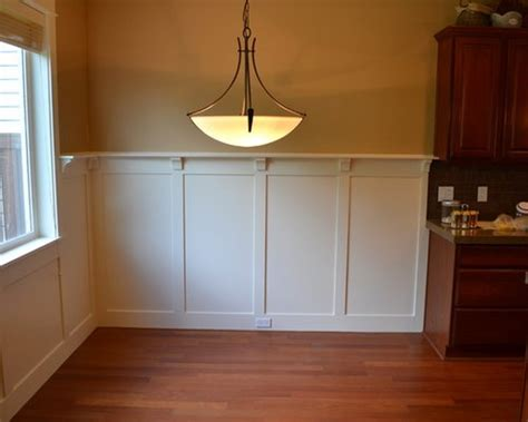 wainscot  plate rail home design ideas pictures
