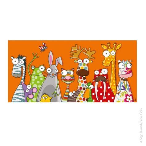 chambre la girafe tableau enfant les animaux déco décoration chambre bébé