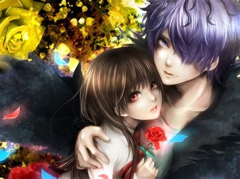 Anime Hug Wallpapers - anime hug wallpaper 57 images