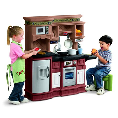 tikes gourmet prep  serve play kitchen play