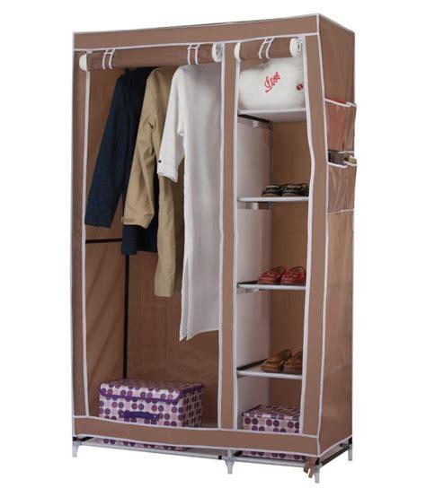 Wardrobe Cupboard by 3 5 Folding Wardrobe Cupboard Almirah Foldable
