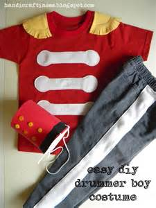 Drummer Boy Easy DIY Costume