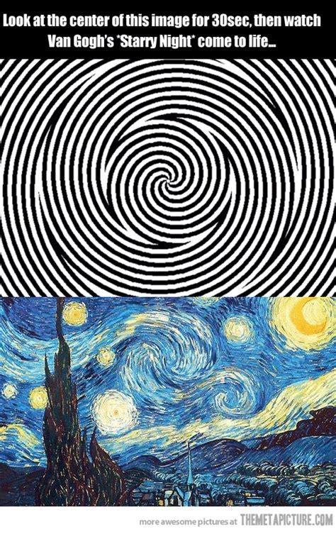 van gough illusion pictures   images