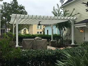Solid Wood Patio Cover