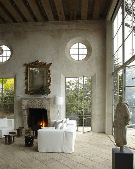 chic interior stucco walls ideas   shelterness