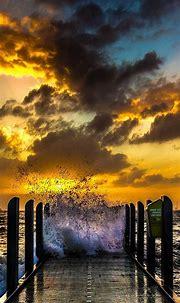 Waves Phone Wallpaper 039 - [1080x2340]
