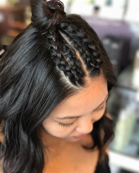 french braid hairstyles  add flair