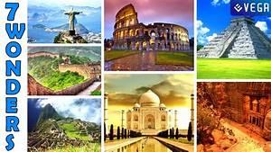 7 Wonders of the World 2015 - YouTube