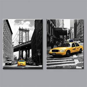 Home decor modern canvas painting new york city pictures