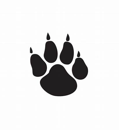 Paw Clip Bobcat 1439 Clipart Clipartion Related