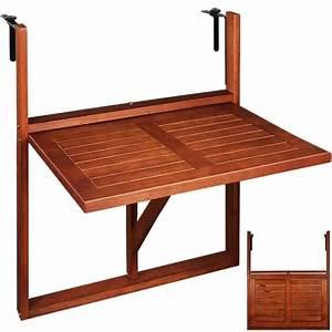 Ikea Table Balcon : table de balcon suspendue 64x45x87cm pliable achat vente table d 39 appoint table de balcon ~ Teatrodelosmanantiales.com Idées de Décoration