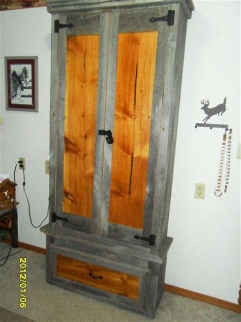 pallet wood gun cabinet plans 1000 images about gun cabinet on pinterest pistols