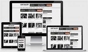 Light Gallery Blogger Template
