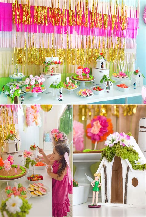Sophia + Sienna's Fairy Birthday Party  At Home With Natalie
