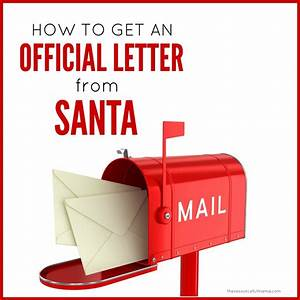 how to get a letter back from santa the resourceful mama With how to get a letter from santa