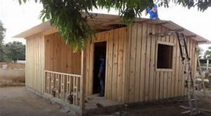 Construyen primera casa de madera a familia damnificada en ...