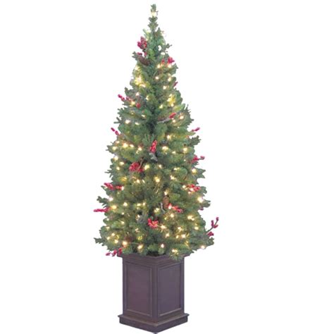 entrance christmas tree foe025712 artificial xmas slim pre