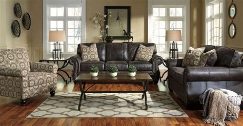 charcoal sofa living room breville charcoal living room set from ashley 80004 38 35