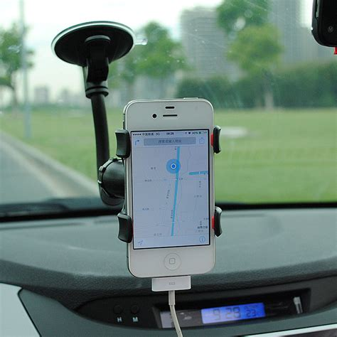 car phone stand car phone holder 360 degrees rotation suction cup holder