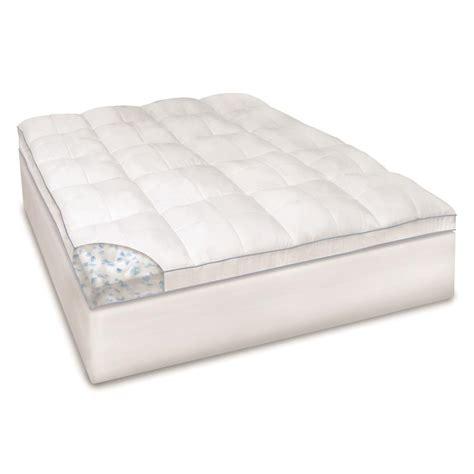 futon mattress pad sensorpedic memoryloft supreme 3 5 quot mattress bed topper
