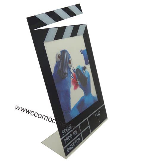 cadre photo clap cinema agencement et decoration gt accessoires gt cadre photo clap ccomocin 233 fauteuil de cin 233 ma
