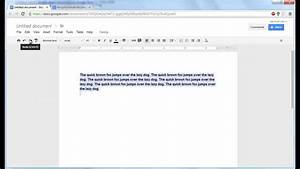 How Do You Double Space On Google Docs