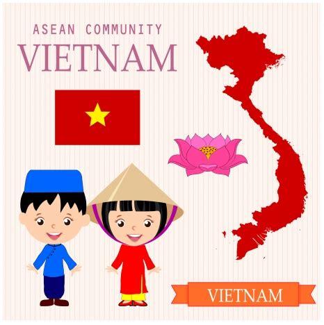 vietnam cultural vectors stock in format for free download 1 21mb