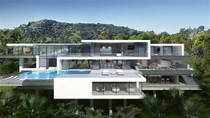 Two Modern Mansions on Sunset Plaza Drive in LA (3) HomeDSGN