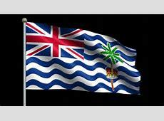 Flag Of The British Indian Ocean Territory The Symbol Of